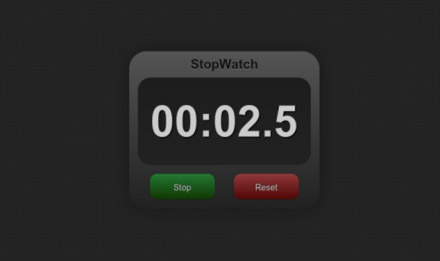 free StopWatch v1.0.0 for PlayBook Applications