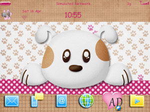 Cute Puppies 9780 Theme
