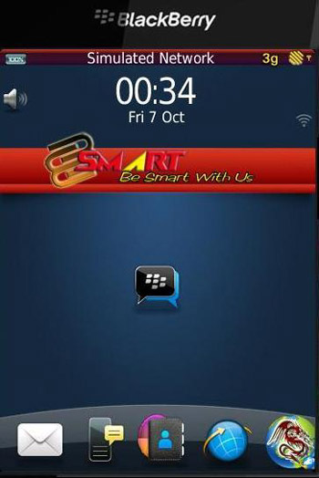 BB Smart 9800 torch themes for blackberry