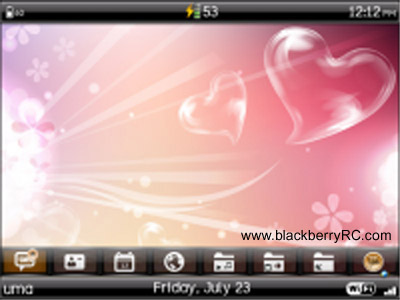 Tempe Bronze for blackberry 9700 onyx themes