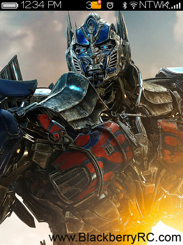 <b>Transformers Age of Extinction 9800 torch theme</b>