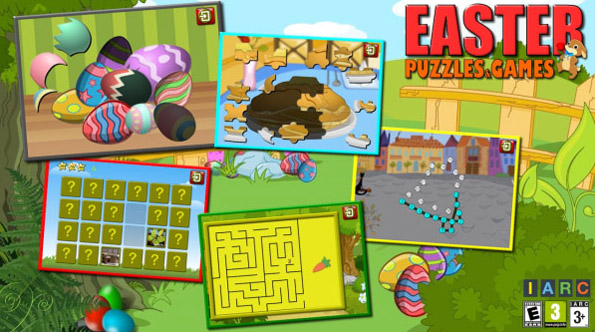 <b>Kids Easter Puzzles and Logic Games</b>
