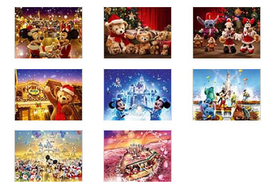 Hong Kong Disneyland's Xmas 480x360 Wallpapers