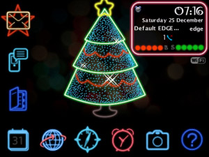 <b>Neon Christmas for 82,83,85,89,90 themes</b>