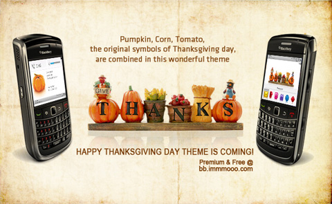 Thanksgiving day themes for BB 8100,83XX,87XX,88X
