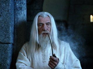 "<b>""Lord of the Rings""Gandalf Wallpapers</b>"