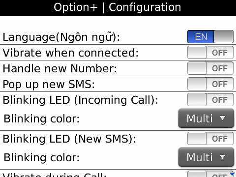 <b>Option Plus 1.0.9 blackberry apps</b>