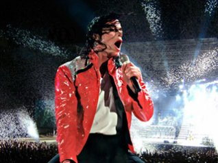 Michael Jackson Concert Wallpapers