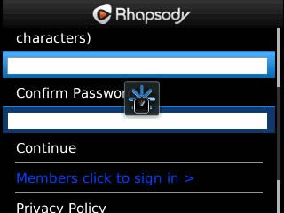 <b>Rhapsody v1.0.3 for blackberry apps</b>