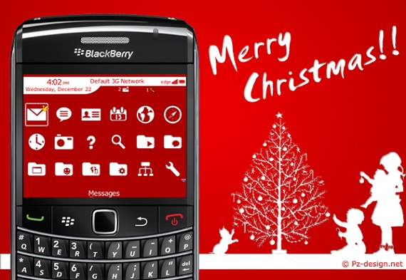 <b>Red Christmas for 89,90,96,97 os5.0 themes</b>