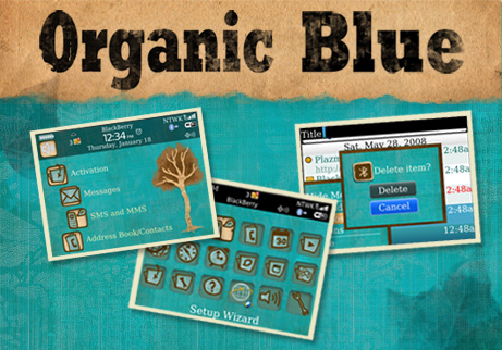 Organic Blue for 8900 curve themes