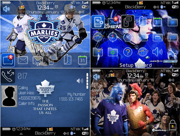 free Toronto Maple Leafs for 89,96,97 themes