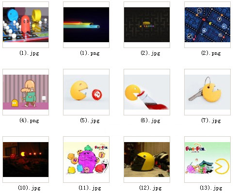<b>Pac-Man wallpapers and Ringtones pack</b>