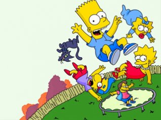 The Simpsons for blackberry wallpapers