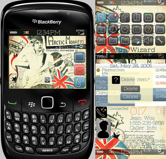 Arctic Monkeys 8500 themes