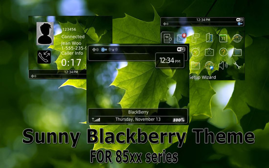 Maple for blackberry 8520 themes