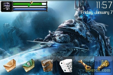 WOW - Lich King 9000 themes