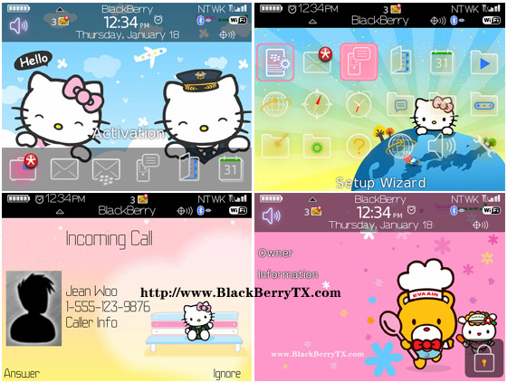 Hello Kitty 90xx bold themes os4.6