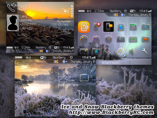 Ice and Snow for 8900 themes os4.6.1
