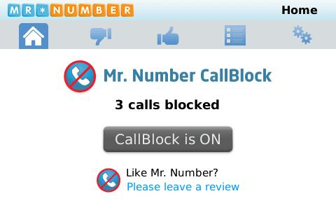 <b>Mr. Number Call Block v3.29</b>