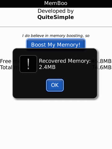 memboo v1.0.1 for Blackberry apps