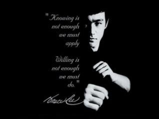 Bruce Lee 320x240 wallpapers