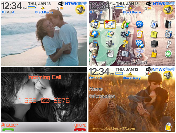 sweet love for blackberry curve themes