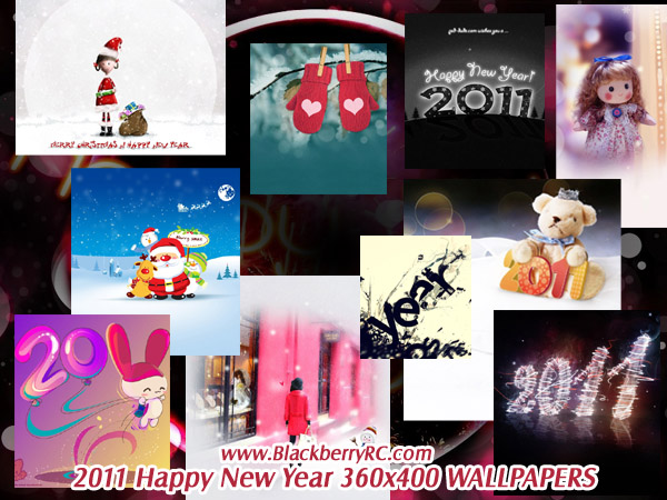<b>2011 Happy New Year 360x400 wallpapers pack</b>