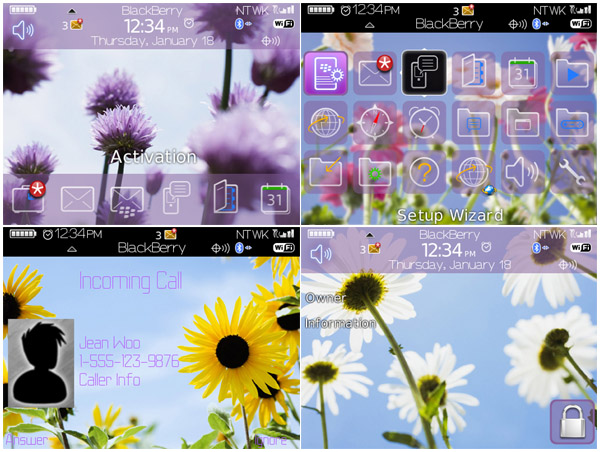Flowers Under Sky 89xx curve themes