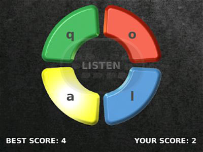Look and Listen - Memory Game