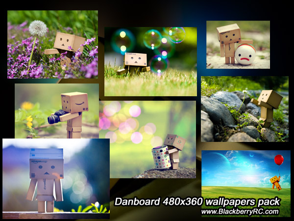 <b>Danboard for blackberry 480x360 wallpapers pack</b>
