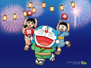 Doraemon - happy new year