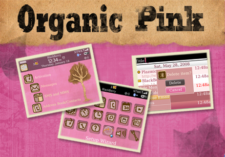 Organic Pink Blackberry 90xx Themes