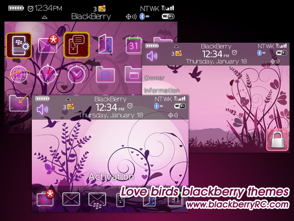 Love birds for 89xx themes os4.6.1