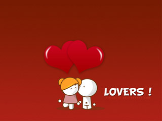 Lovers 320x240 wallpapers