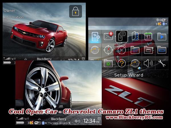 <b>Cool Open Car - Chevrolet Camaro ZL1 os4.6 themes</b>