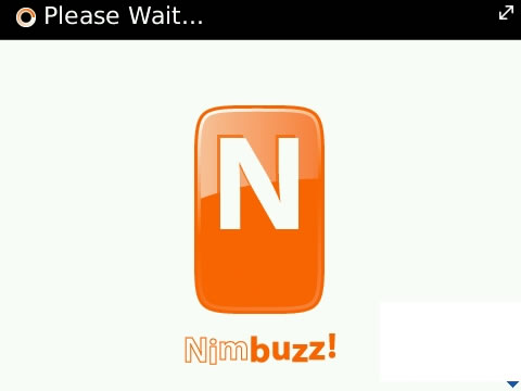Nimbuzz v1.3.71 for blackberry os6.0 apps
