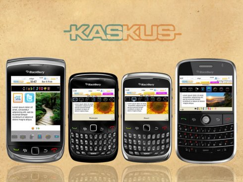 Kaskus for Bold 9700 Themes