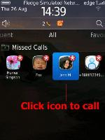 <b>myMissedCalls Trial for blackberry Pearl 3G apps</b>