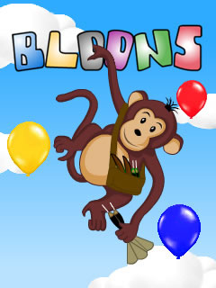 Bloons for blackberry torch games