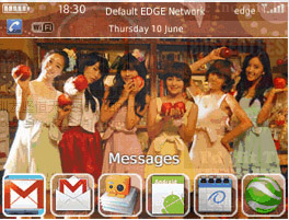 T-ARA Android Fever 8520 themes