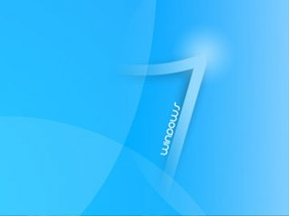 Windows 7 blue wallpapers