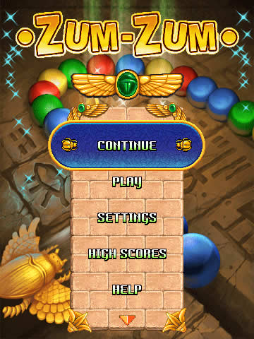 Zum-Zum for blackberry storm games