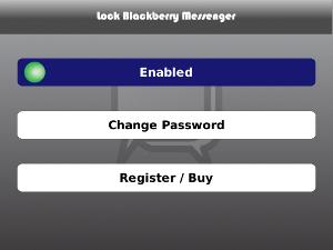 Lock BlackBerry Messenger v1.3