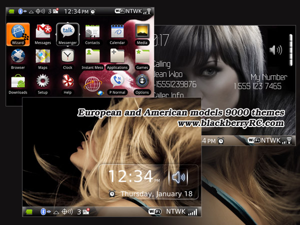 European and American models 9000 os4.6 themes