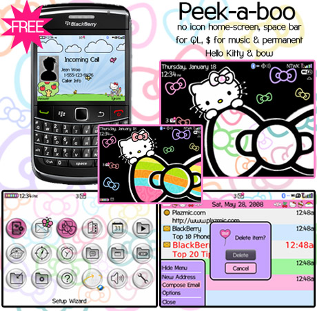 HelloKitty for 8900,9000 themes