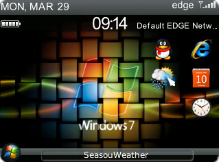 Windows 7 for bb curve 83,87,88 themes