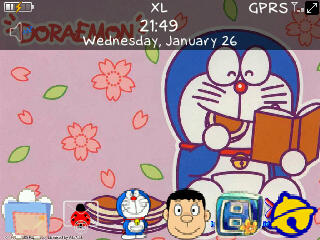 Doraemon for bb 85xx themes