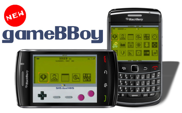 Gameboy Classic V2.0 Themes for blackberry 89xx,9