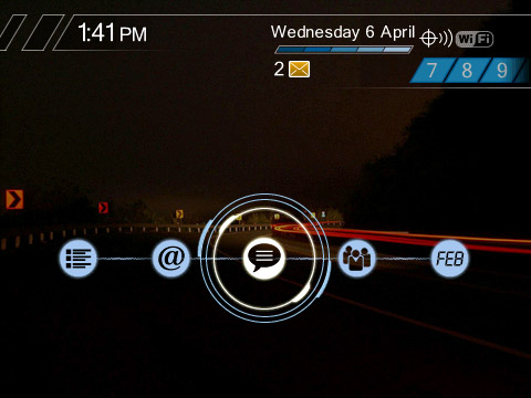 NFS Themes for blackberry 9000 os4.6